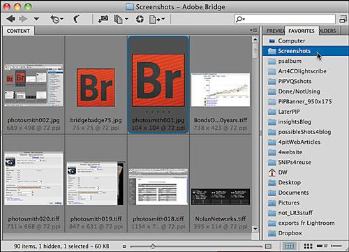 BridgeFavFolders500